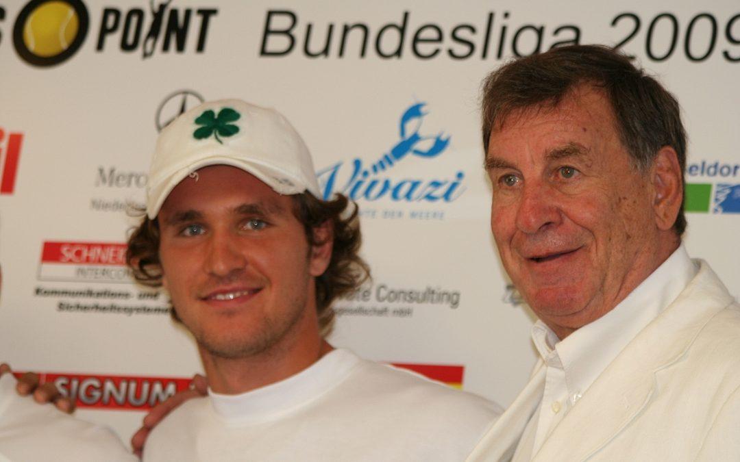 2009: Mischa Zverev: Erst Bundesliga, dann Davis-Cup