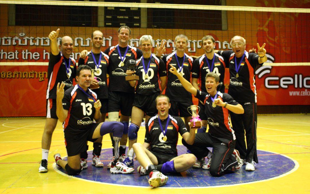Gold!!! Standvolleyballer holen sich den World Cup